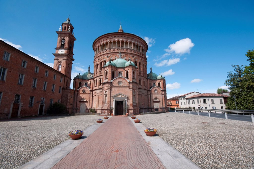 Stock Photo: 1566-1278355 Italy, Lombardy, Crema, Santa Maria Della Croce Church, Sanctuary