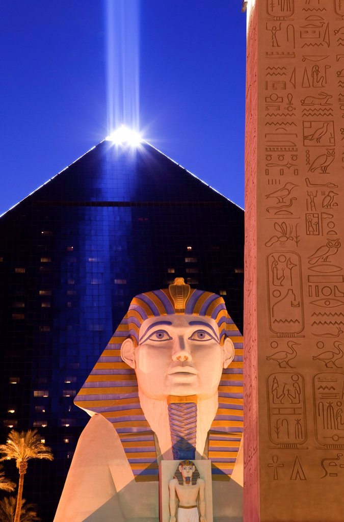 The Luxor Hotel and Casino, Las Vegas. : Stock Photo