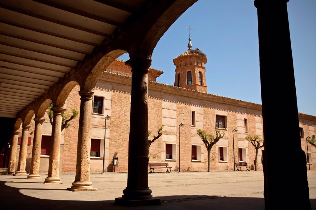 Stock Photo: 1566-1284816 Fitero monastery. Navarre. Spain