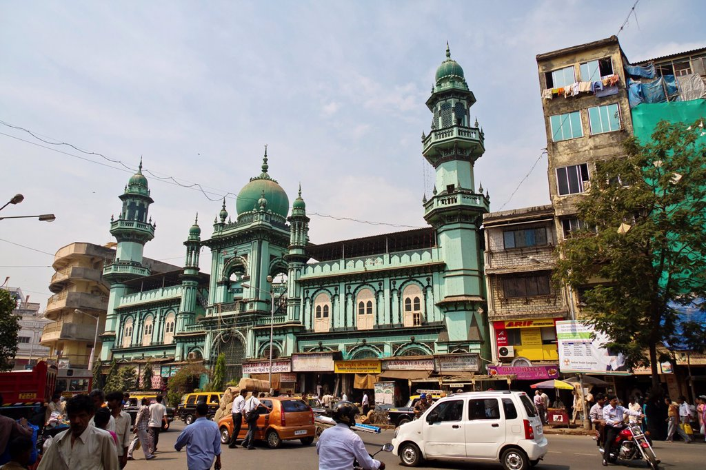 Mosque in Mumbai, India. : Stock Photo