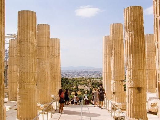 Stock Photo: 1566-1400508 europe, greece, athens, acropolis