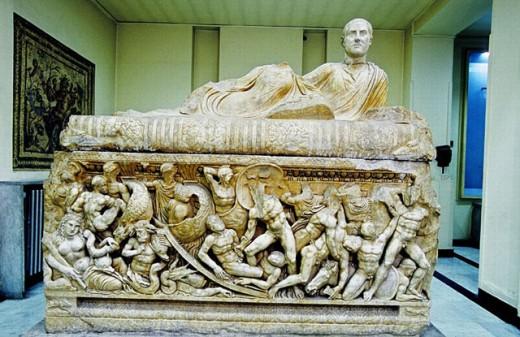 Stock Photo: 1566-248179 National Museum. City of Damascus. Syria