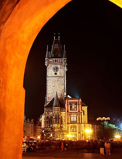 Stock Photo: 1566-251459 Old Town Hall. Prague, Czech Republic
