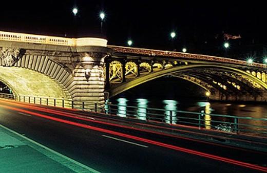 Stock Photo: 1566-252460 Notre Dame bridge. Paris. France.
