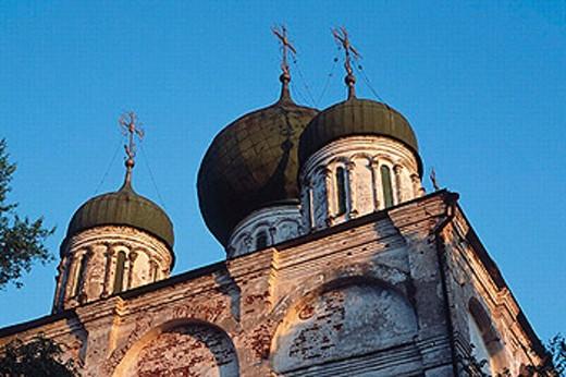 Stock Photo: 1566-253004 Cathedral, 17 century, Arzamas, Nizhny Novgorod region, Russia