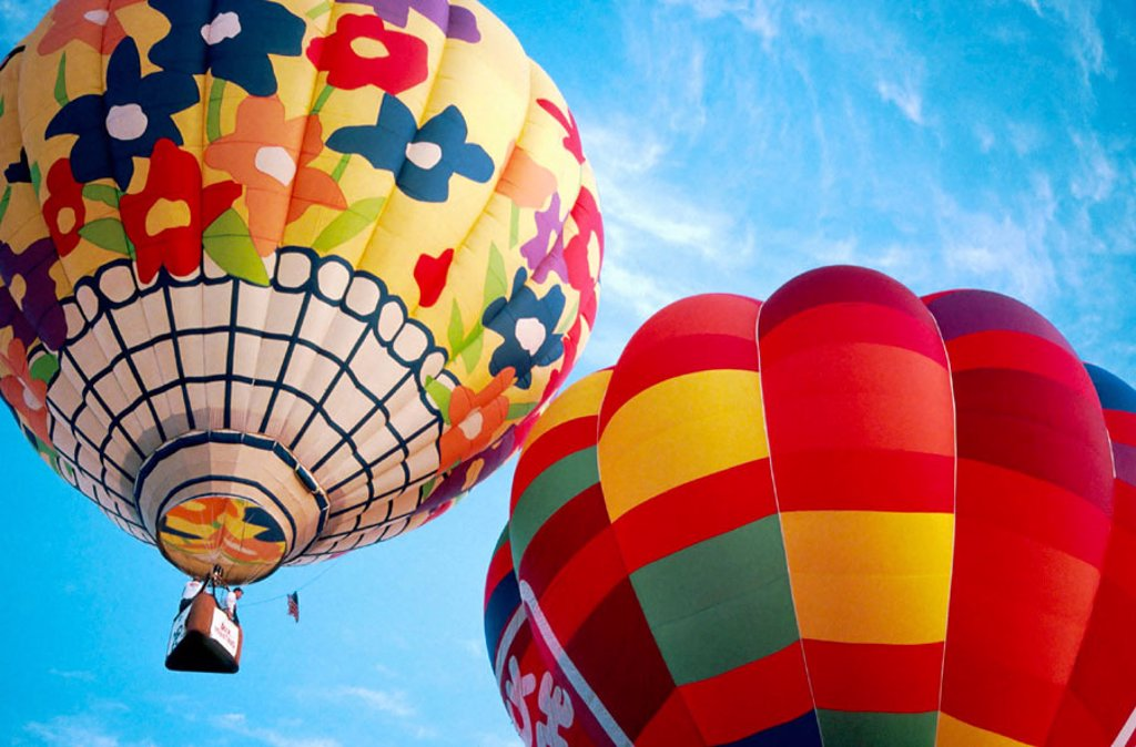 Stock Photo: 1566-255028 Hot air balloons. Plano, Texas, USA
