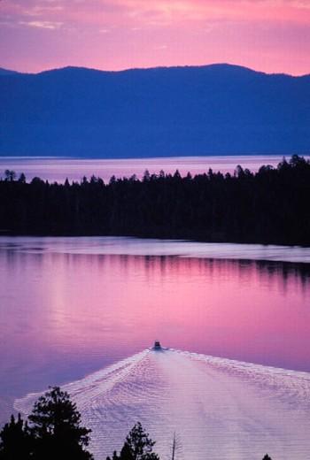 Stock Photo: 1566-255934 Lake Tahoe, California USA