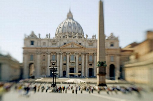 St. Peter´s Basilica, Vatican City, Rome, Italy : Stock Photo