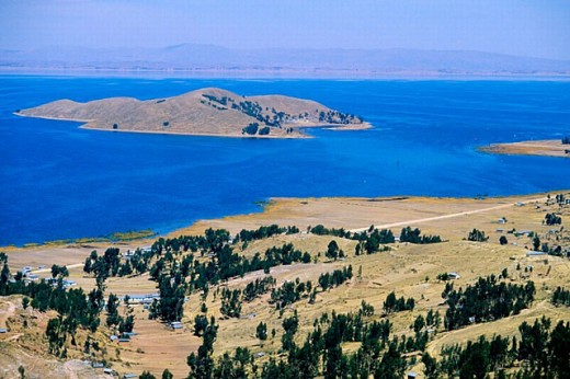 Stock Photo: 1566-256457 Lake Titicaca. Bolivia