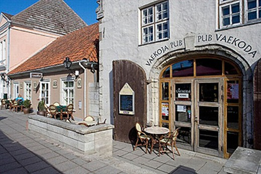Old town, Kuressaare. Saaremaa island, Estonia : Stock Photo