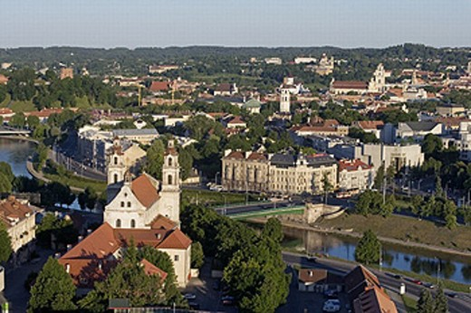 St. Raphael´s Church, Vilnius. Lithuania : Stock Photo