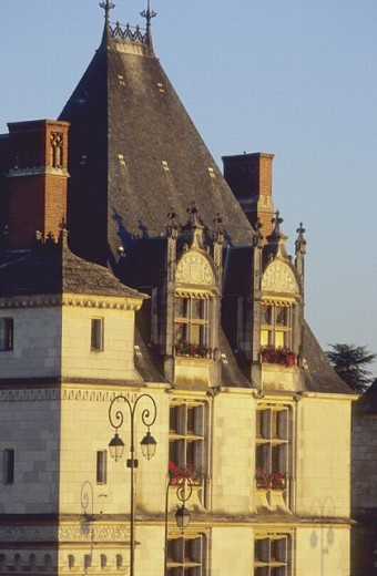 Stock Photo: 1566-257852 Hôtel de Ville (Town Hall), Amboise. Loire Valley, France