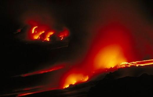 Kilauea Volcano. Hawaii. USA : Stock Photo