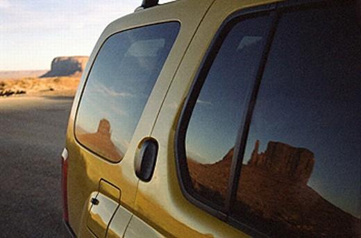 Monument Valley Navajo Tribal Park, near town of Kayenta, Arizona, USA : Stock Photo