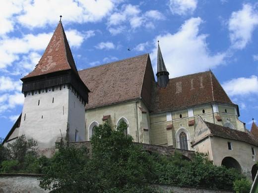Stock Photo: 1566-259605 Biertan fortified church, Transilvania. Romania
