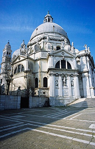 Stock Photo: 1566-261446 Church of Santa Maria della Salute (1631-1687), Venice. Veneto, Italy