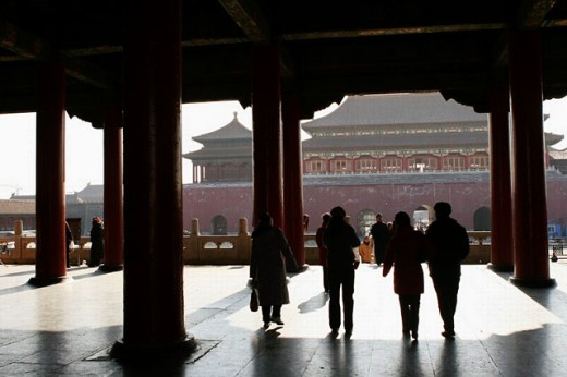 Stock Photo: 1566-261606 Forbidden City. Beijing. China.