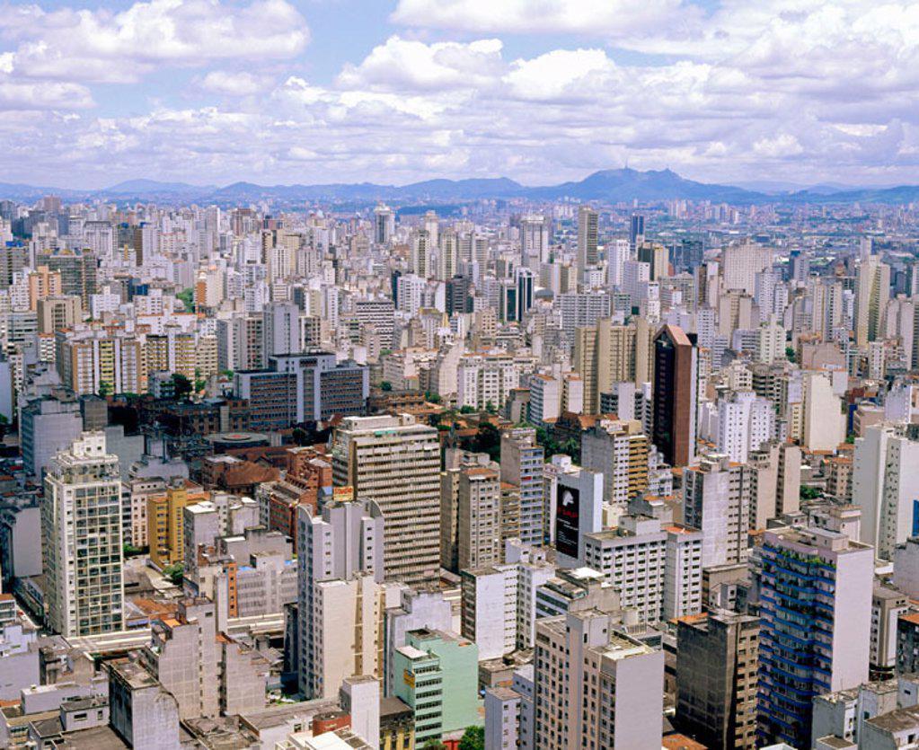 Stock Photo: 1566-262457 Downtown São Paulo. Brazil