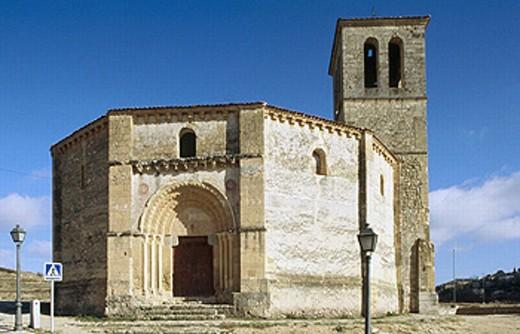 Templar church of the Vera Cruz. Segovia province, Castilla-León, Spain : Stock Photo