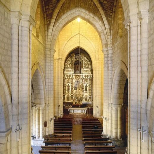 Stock Photo: 1566-262917 Church, Villamuriel de Cerrato. Palencia province, Castilla-León, Spain