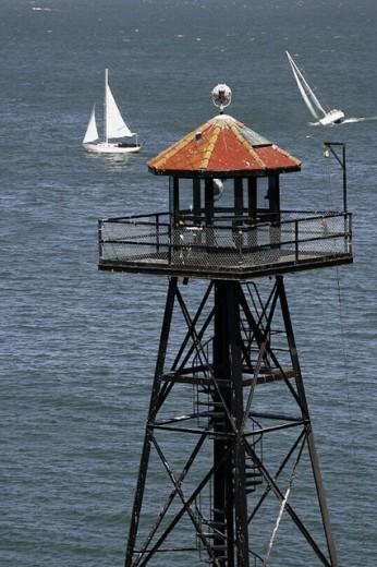 Stock Photo: 1566-263141 Alcatraz Island, San Francisco. California, USA