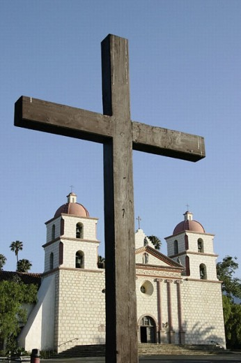 Mission Santa Barbara. California, USA : Stock Photo
