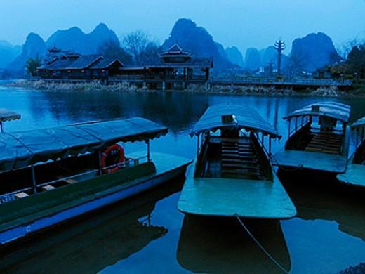 Lijiang river. Guilin. China. : Stock Photo