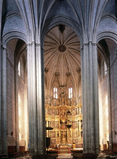 Stock Photo: 1566-263334 Church of St. John the Baptist, Santoyo. Tierra de Campos, Palencia province. Castilla-León, Spain