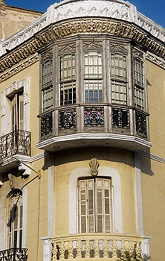 Stock Photo: 1566-264174 Modernist building in the Reina Victoria district at Melilla. Spain.