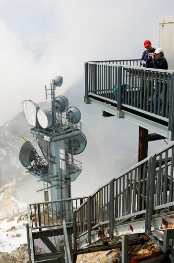 Zugspitze, Alpen, Tirol, Austria : Stock Photo