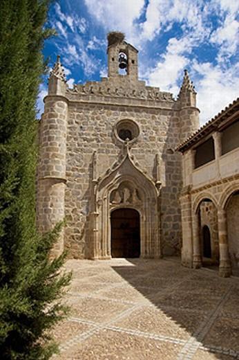 Monastery of Santa Clara de la Columna at Belalcazar. Córdoba. Andalucia. Spain. : Stock Photo