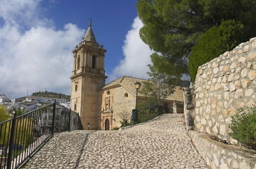 Church of the Assumption (16th century), Luque. Córdoba province, Andalusia. Spain : Stock Photo
