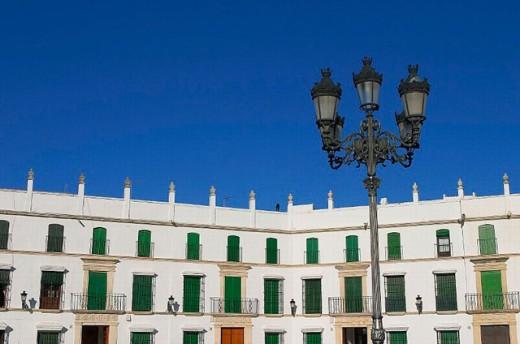 Square of San José built in 1813, Aguilar de la Frontera. Córdoba province, Andalusia. Spain : Stock Photo