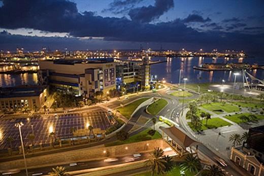 Puerto de la Luz, Las Palmas, Grand Canary, Canary Islands : Stock Photo