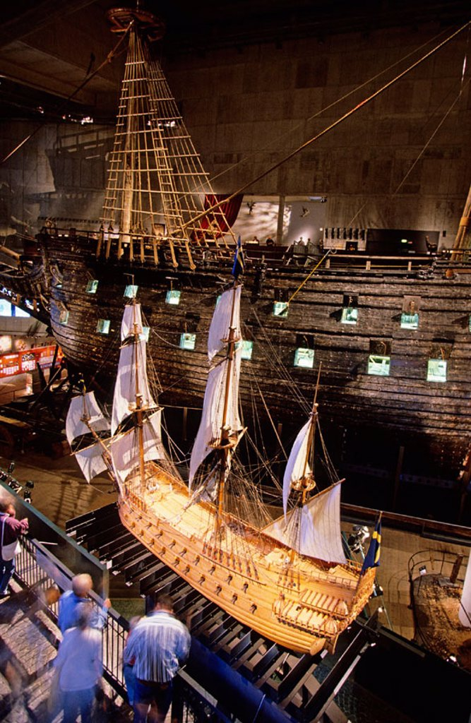 Stock Photo: 1566-267359 Vasa Museum. Djurgarden Island. Stockholm. Sweden.