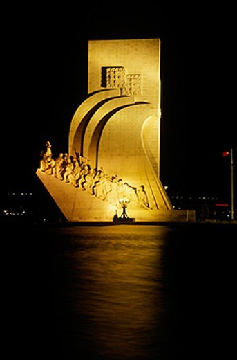 Monument to the Discoveries. Lisbon. Portugal : Stock Photo