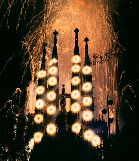 Sagrada Familia. Barcelona. Catalonia. Spain. : Stock Photo