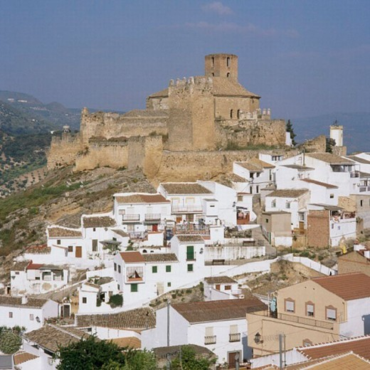 Iznajar, Cordoba province, Spain : Stock Photo