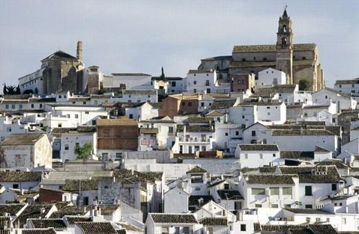 Old tow, Baena, Cordoba province, Spain : Stock Photo
