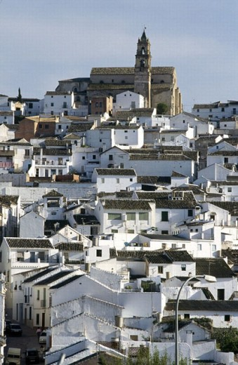 Stock Photo: 1566-272130 Old tow, Baena, Cordoba province, Spain
