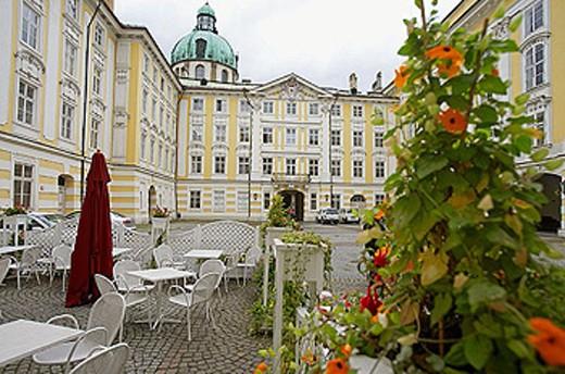 Kaiserliche Hofburg, Innsbruck. Tyrol,  Austria : Stock Photo