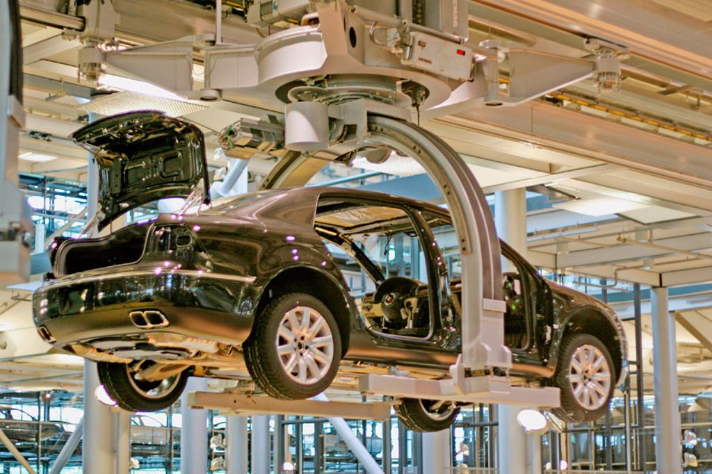 Stock Photo: 1566-273589 Volkswagen factory, Dresden, Germany