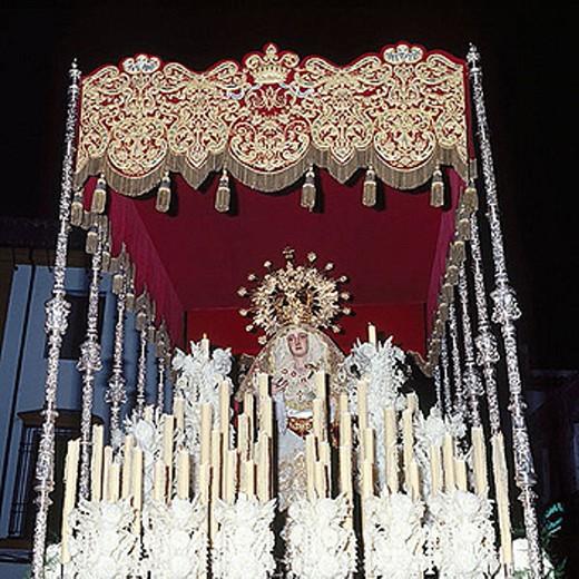 Hermandad del Descendimiento. Good Friday, Holy Week, Cordoba, Spain : Stock Photo