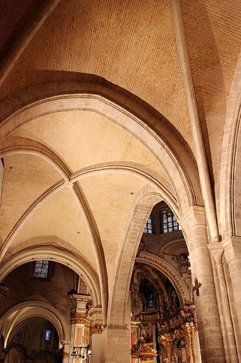 Stock Photo: 1566-275635 Cathedral. Valencia. Spain.