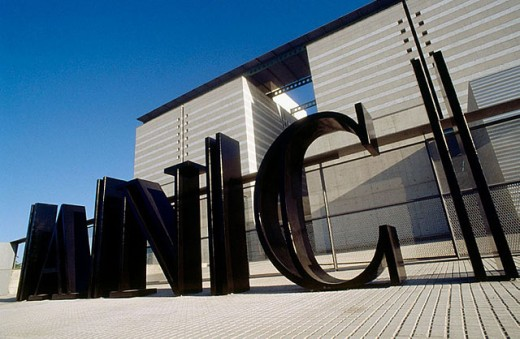 National Archive of Catalonia. Sant Cugat del Vallés, Barcelona province, Spain : Stock Photo