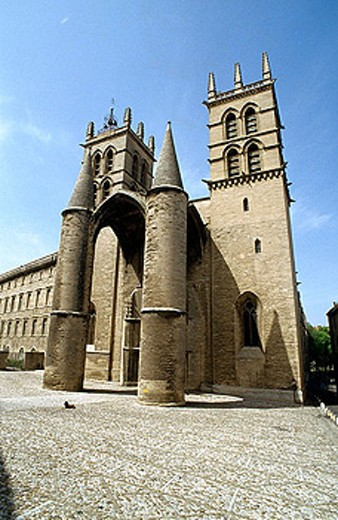 Cathedral, Montpellier, France : Stock Photo