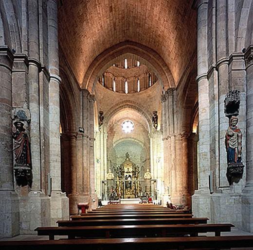 Collegiate church, Toro. Zamora province, Castilla-León, Spain : Stock Photo