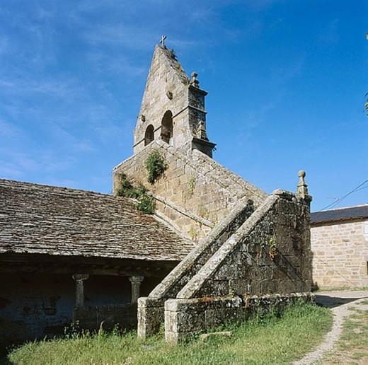 Church, Donado. Zamora province, Castilla-Léon, Spain : Stock Photo