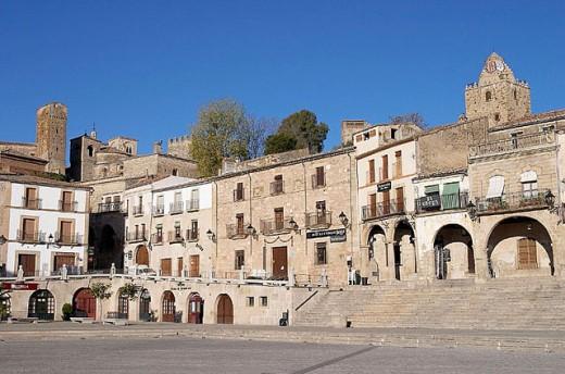 Stock Photo: 1566-277141 Main Square, Trujillo. Cáceres province, Extremadura, Spain