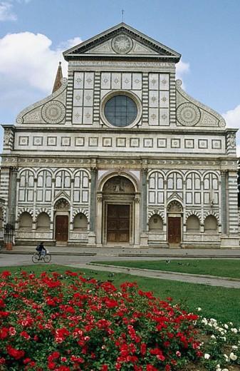 Church of Santa Maria Novella. Florence. Italy : Stock Photo